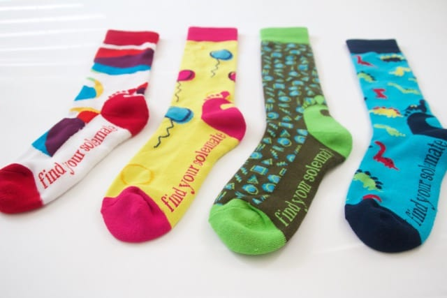 SoleMate Sox Mini Soles Kid's Collection