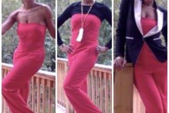 3 Ways To Wear A Strapless Jumpsuit