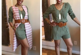 2 Ways to Wear A Romper Bama's Buzz Lucca