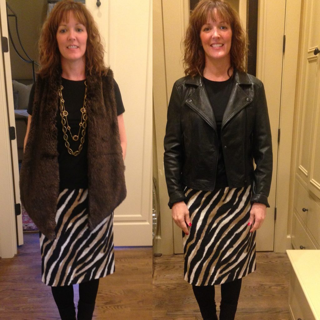1 Skirt- 2 Ways