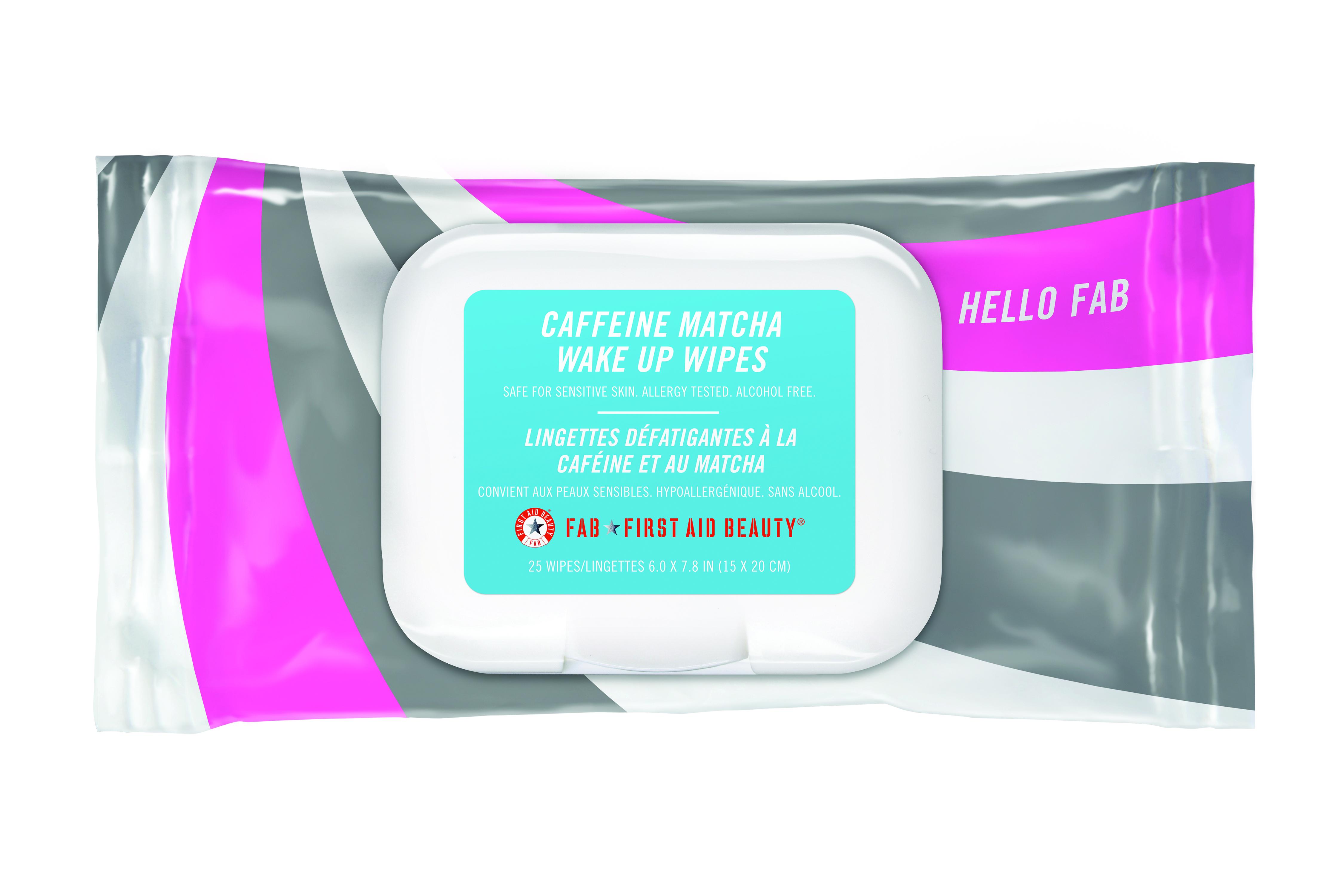 HelloFAB Caffeine Matcha Wipe | Catenya.com